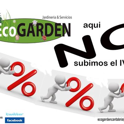 jardineria cantabria ecogarden IVA