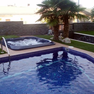 jardineria, piscina , jacucci y obra en general