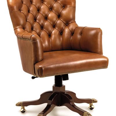 King sillón despacho inglés.