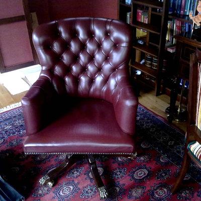 King sillón piel