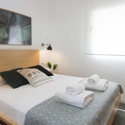 Dos dormitorios con mucho estilo