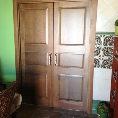 Puerta doble cocina