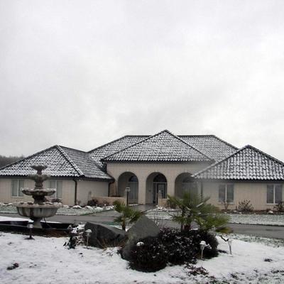 La teja plástica Roof-Eco acepta cambios bruscos de temperatura