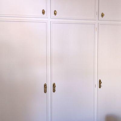 Lacado armario empotrado