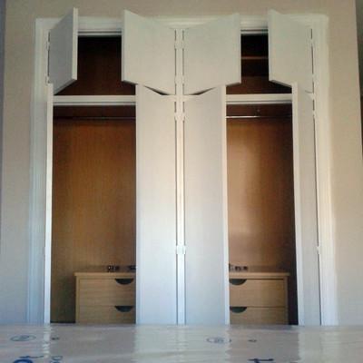 Lacado de armario empotrado en Madrid