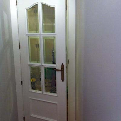 Lacado de puerta de la cocina