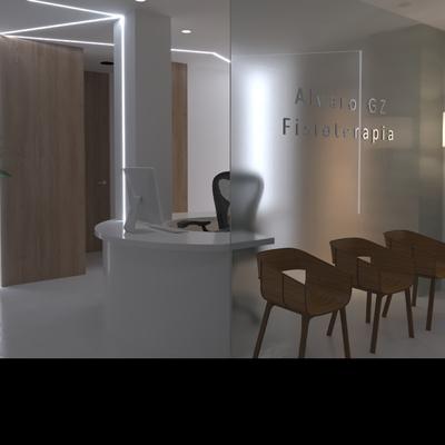 Proyecto de Interiorismo Corporativo · Clínica de Fisioterapia - Logroño