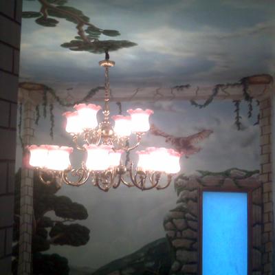 LAMPARA COLGADA IRIS PUB