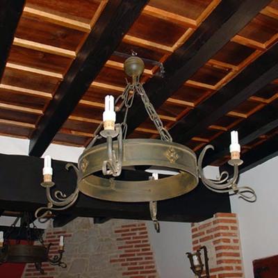 LAMPARA DE TECHO MOD. ALBERCA