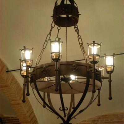 LAMPARA DE TECHO MOD. GRAN DUQUE