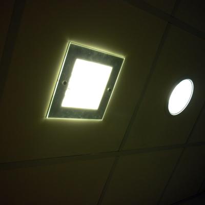 lamparas downlight y led