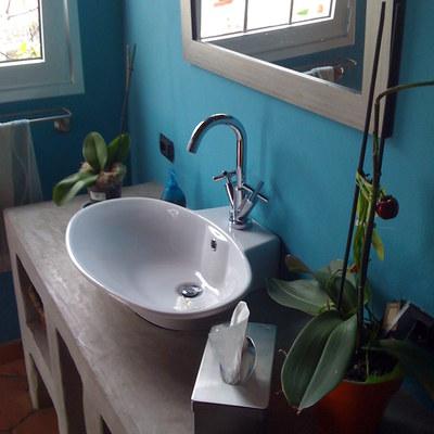 lavabo de obra