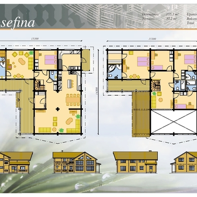 Planos   Casa Mod. JOSEFINA/333