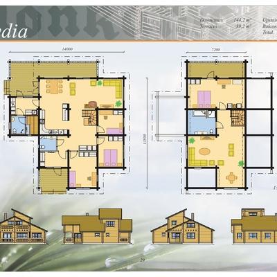 Planos   Casa Mod. LYDIA/286