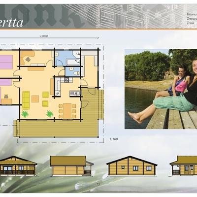 Planos  Casa Mod. BERTTA/115