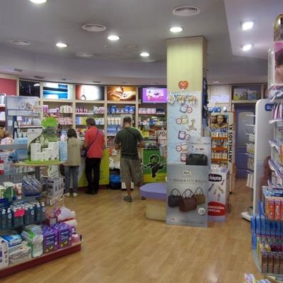 Licencia de actividad farmacia