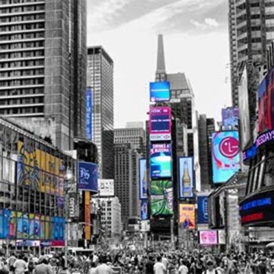 Lienzo Times Square Nueva York