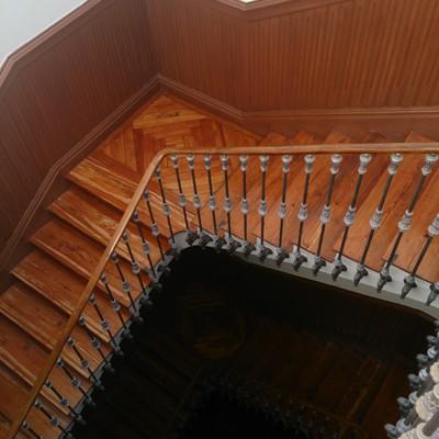 lijado de escaleras