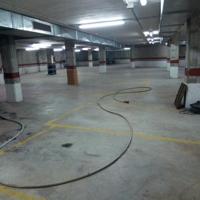 Fregado suelo Parking