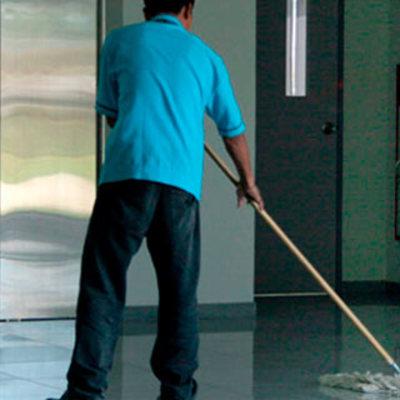 Limpieza de centros comercialles