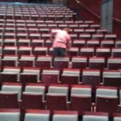 limpieza butacas teatro