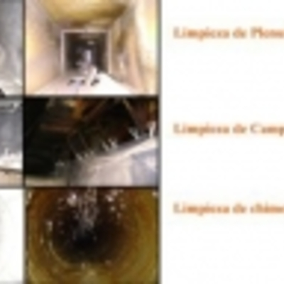 LIMPIEZA CAMPANAS CHIMENEAS