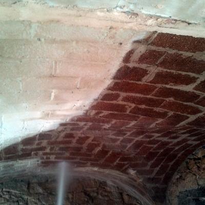 Limpieza de bóvedas de chalet