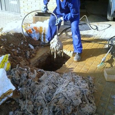 Limpieza de colectores
