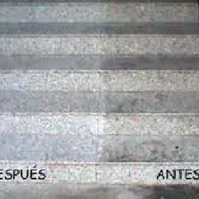 Limpieza de escalera de Granito