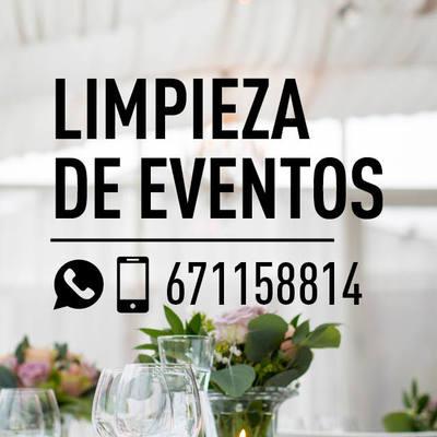 LIMPPIEZA DE EVENTOS