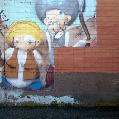 Limpieza de grafitti