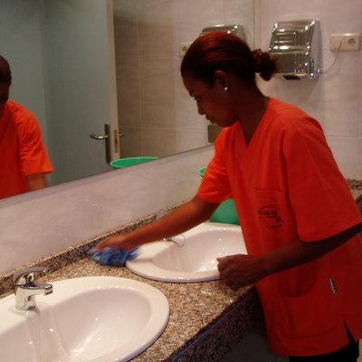 Limpieza de mantenimiento