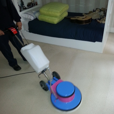 Limpieza de moqueta