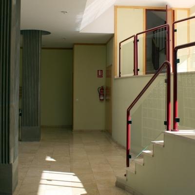 Limpieza de zaguanes y escaleras
