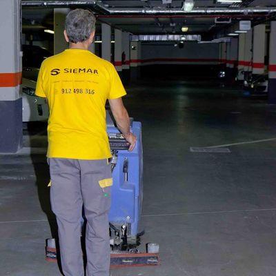 limpieza profesional de garajes