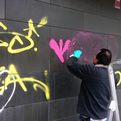 limpieza grafiti