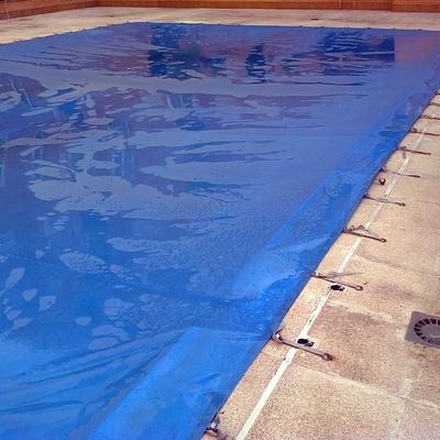 limpieza lona piscina comunidad
