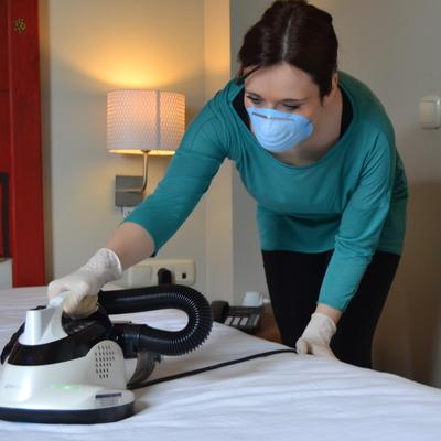 Limpieza y desinfeccion anti-acaros