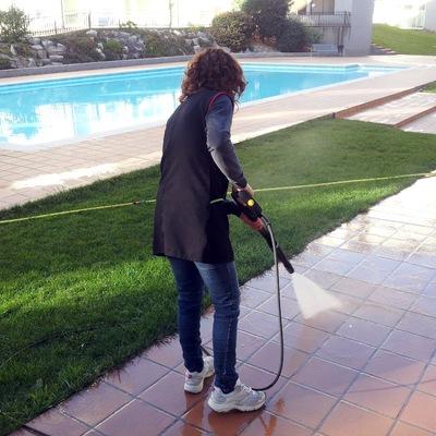 Limpiezas con hidrolimpiadora a presión