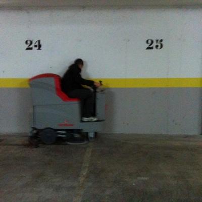 limpiza de garajes