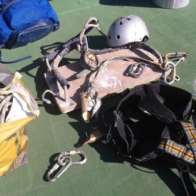 lo mejor en  equipos de escalada