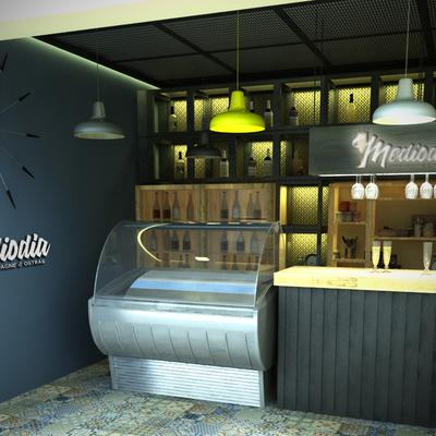 Proyecto decoración de puesto Gastro - Marbella