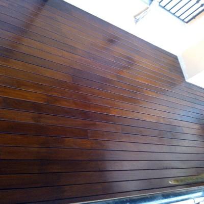 madera de ipe lacada