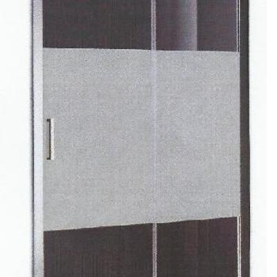 Mampara de cristal seguridad