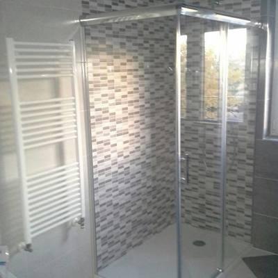 Mampara de cristal de ducha