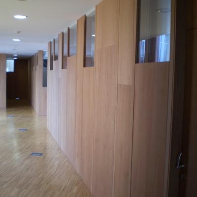 Mampara oficinas
