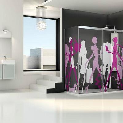 Mampara Profiltek diseño imagik