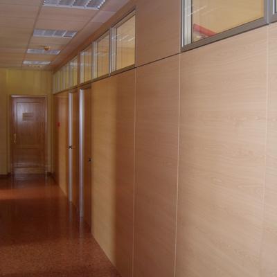 Mamparas de oficina