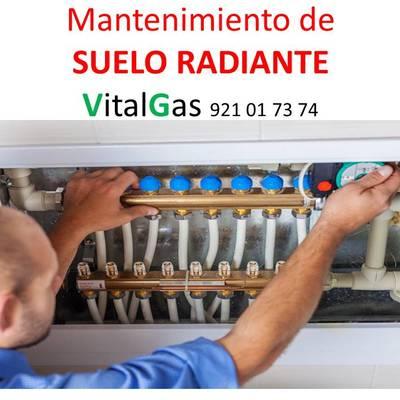 MANTENIMIENTO DE SUELO RADIANTE
