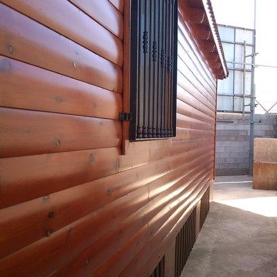 Mantenimiento exterior de casa de madera